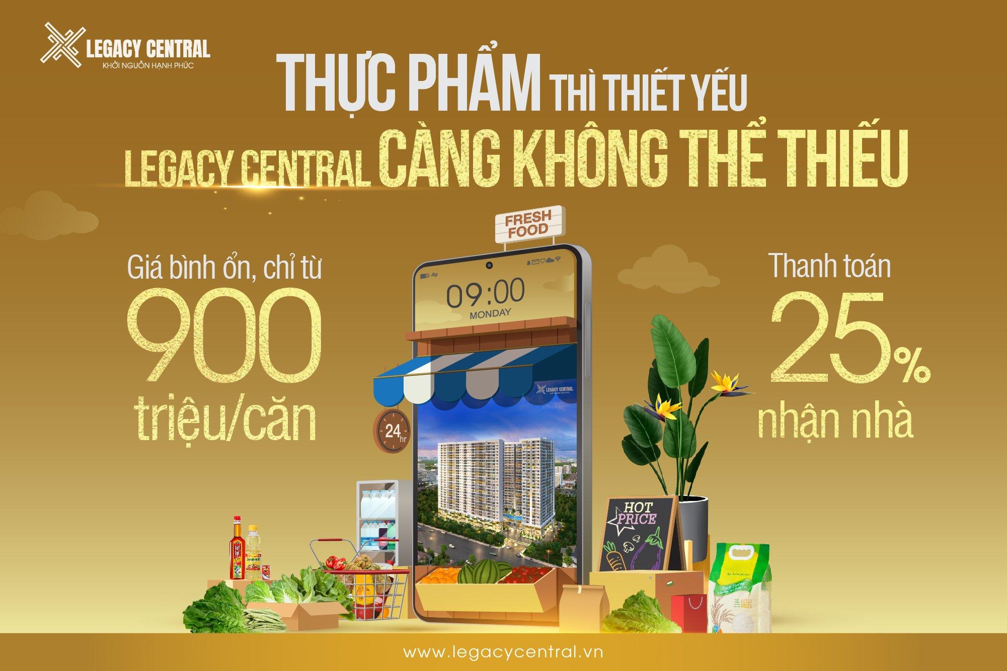 Bán căn hộ trung tâm Tp Thuận An với giá chỉ từ 900tr /căn