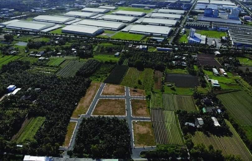 Đất nền thổ cư 100% chiết khấu 4% sau khu công nghiệp Tân Hương