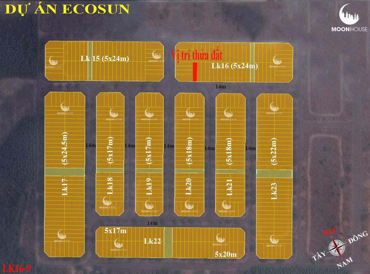 Bán đất , chính chủ , full Thổ , dự án Ecosun , xã phước an , huyện Nhơn Trạch