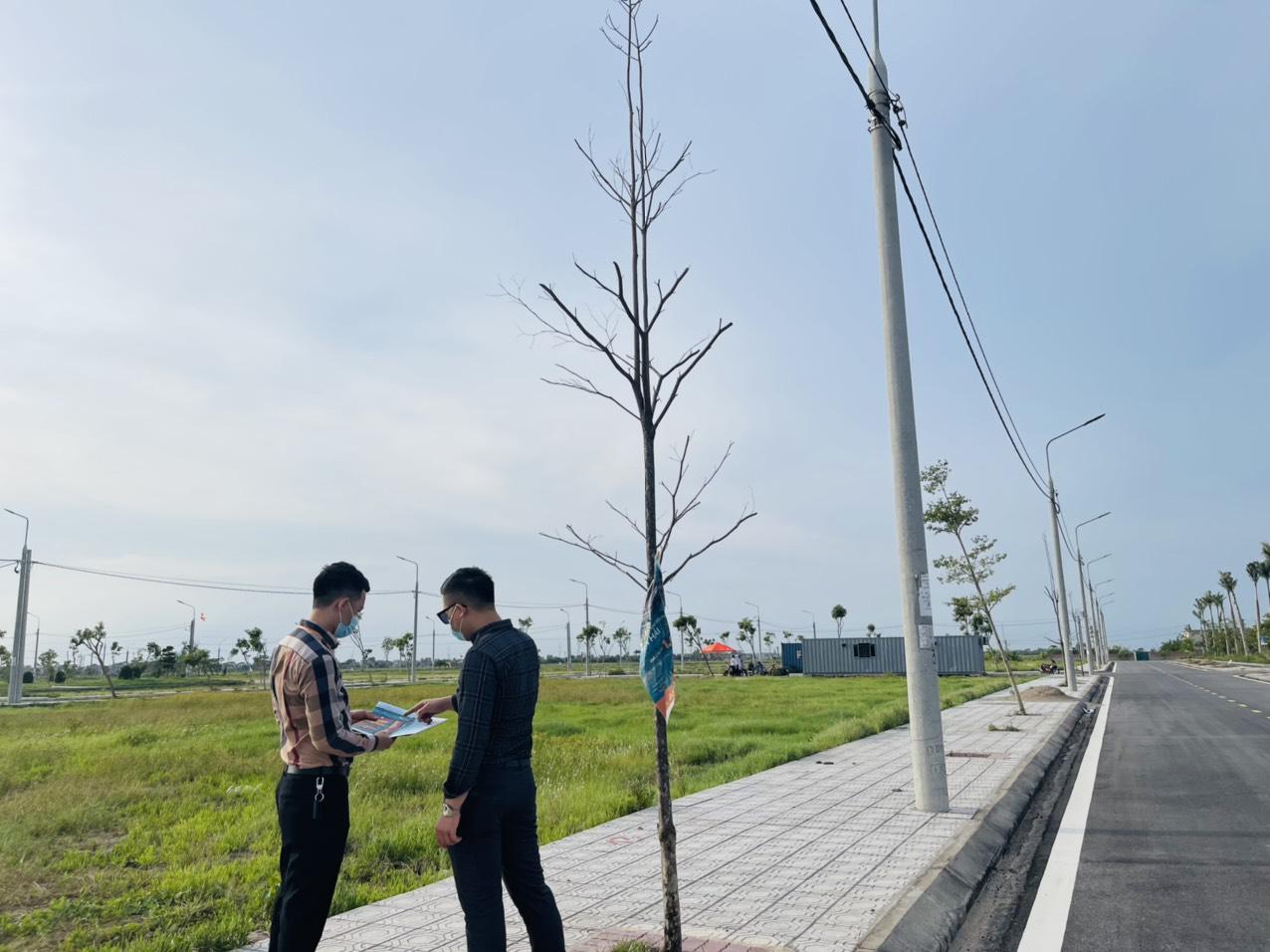 Mở bán đất Bắc Đồng Đầm Tiền Hải 15 tr/m, chiết khấu 5%, vay ưu đãi, đã có sổ, hoàn thiện hạ tầng