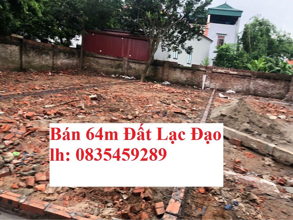 Chính chủ bán lô đất 65m2 Cực đẹp tại Lạc Đạo, Văn Lâm, Hưng Yên: