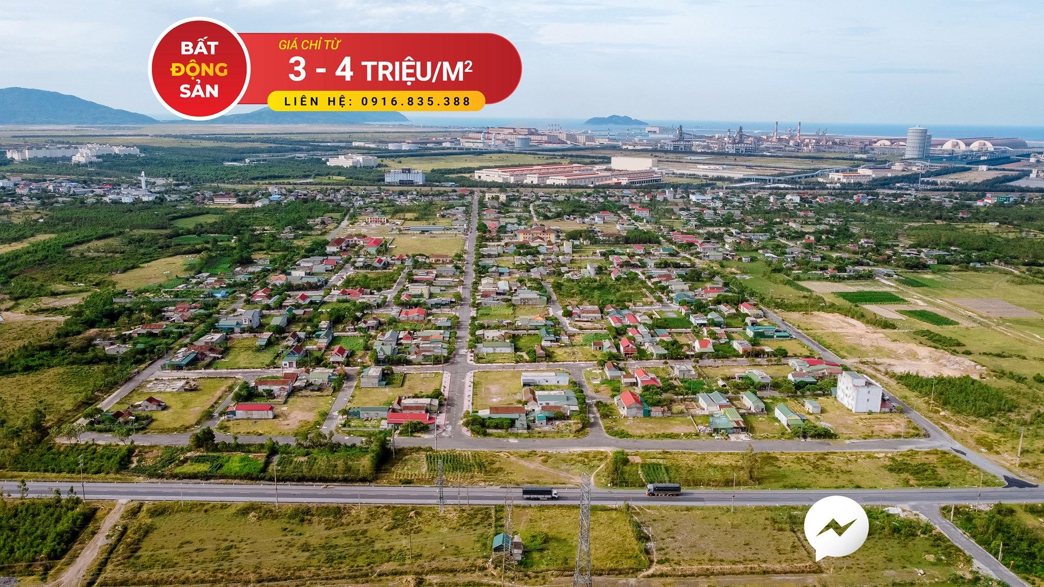 Cần bán Đất đường Quốc lộ 1A, Xã Kỳ Phương, Diện tích 190m², Giá 390.000.000 Triệu - LH: 0916835388