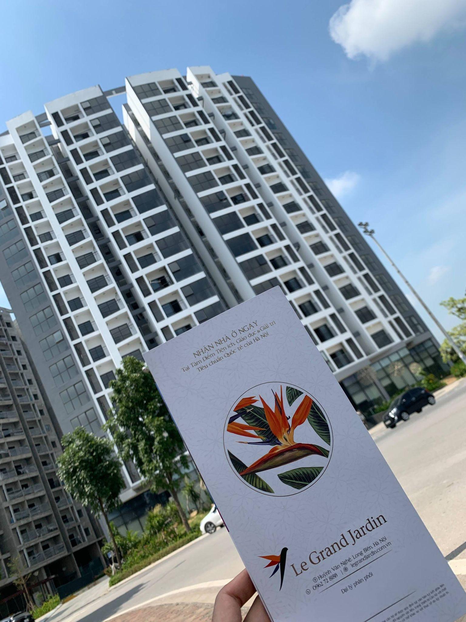 Cần bán Căn hộ chung cư dự án Le Grand Jardin Sài Đồng, Diện tích 97m², Giá 2200 Triệu - LH: 0369888680