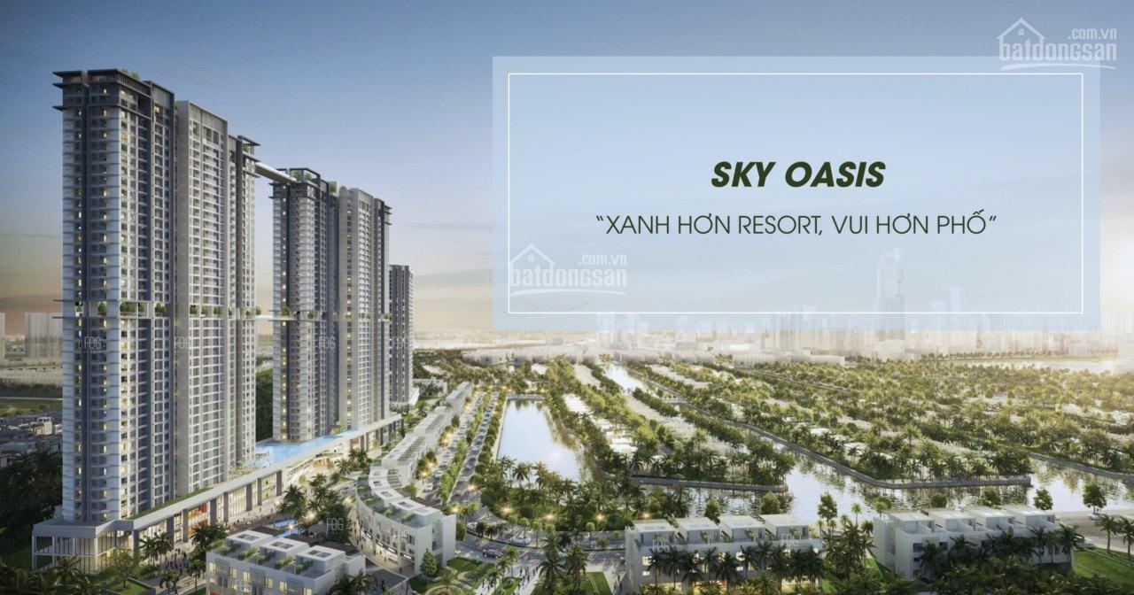 Bán căn hộ chung cư Sky Oasis căn 2 ngủ