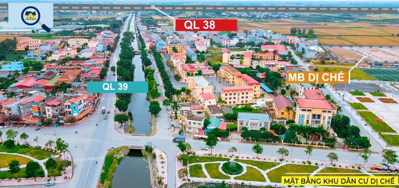 Cơ hội đầu tư siêu lợi nhuận từ dự án Dị Chế, Tiên Lữ, Hưng Yên