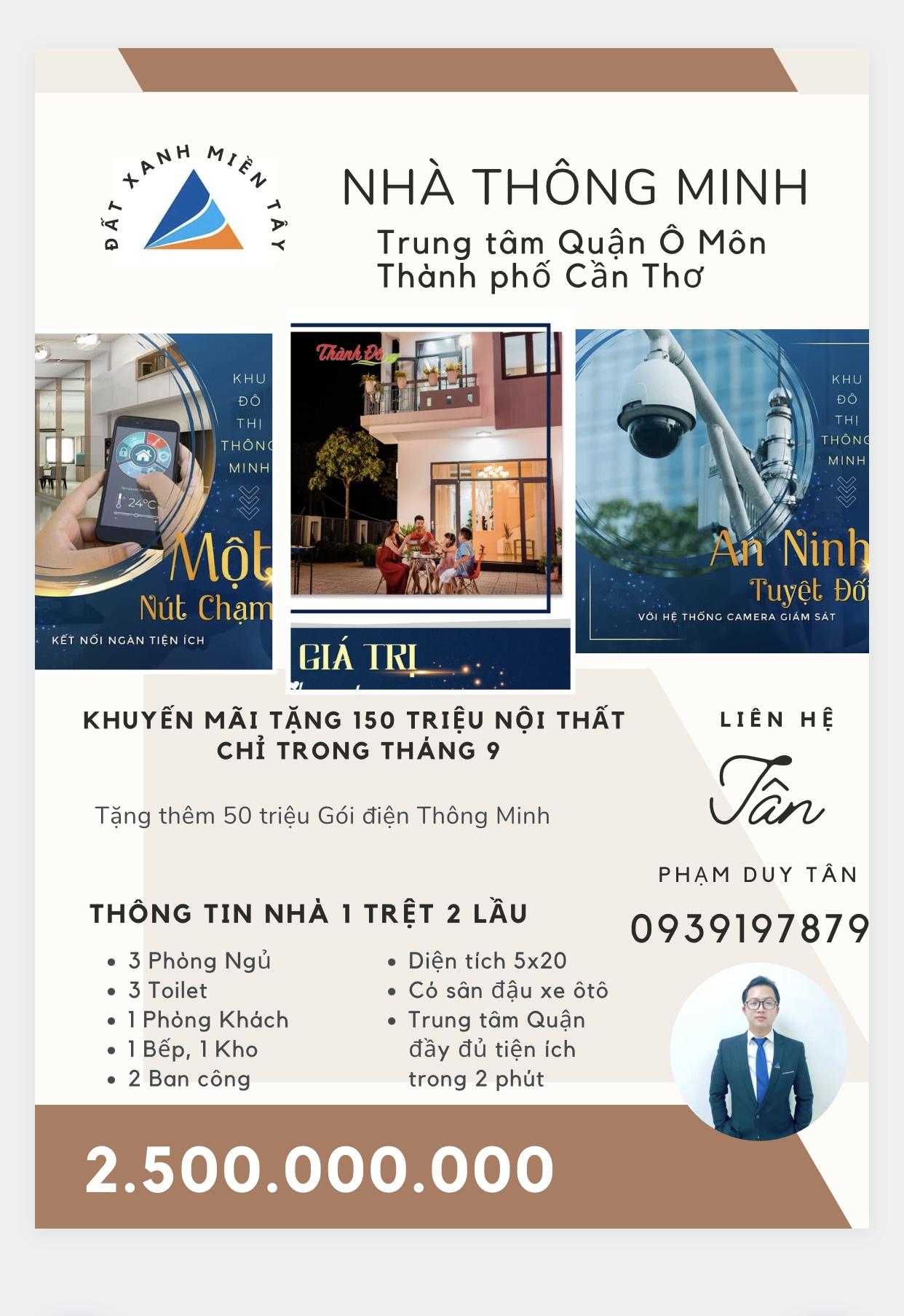 Cần bán Nhà mặt tiền đường Châu Văn Liêm, Phường Châu Văn Liêm, Diện tích 100m², Giá 700 Triệu - LH: 0567093839