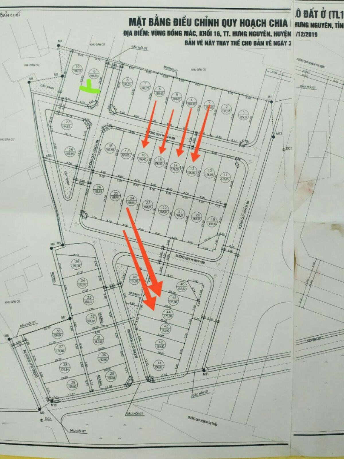 Cần bán Đất đường Quốc lộ 46, Thị trấn Hưng Nguyên, Diện tích 199.95m², Giá 2.380 Tỷ - LH: 0961429986