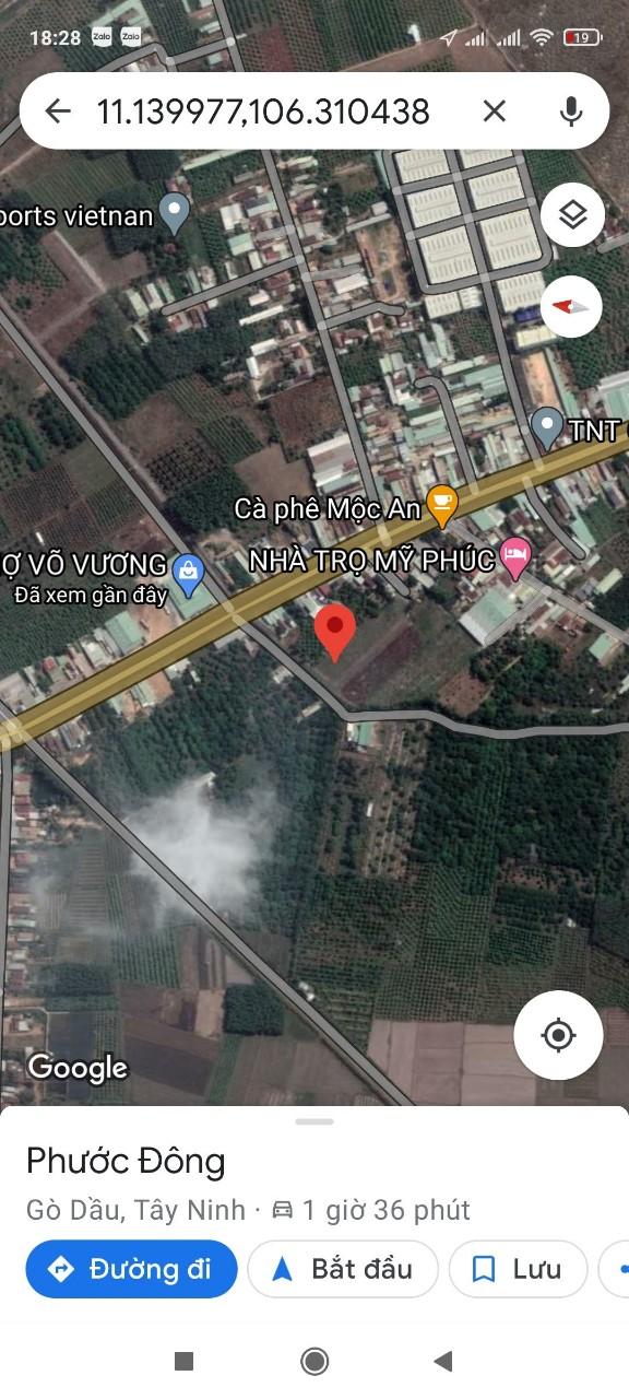 Cần bán Đất đường 782, Xã Phước Đông, Diện tích 168m², Giá 1.170.000.000 Tỷ - LH: 0937884640