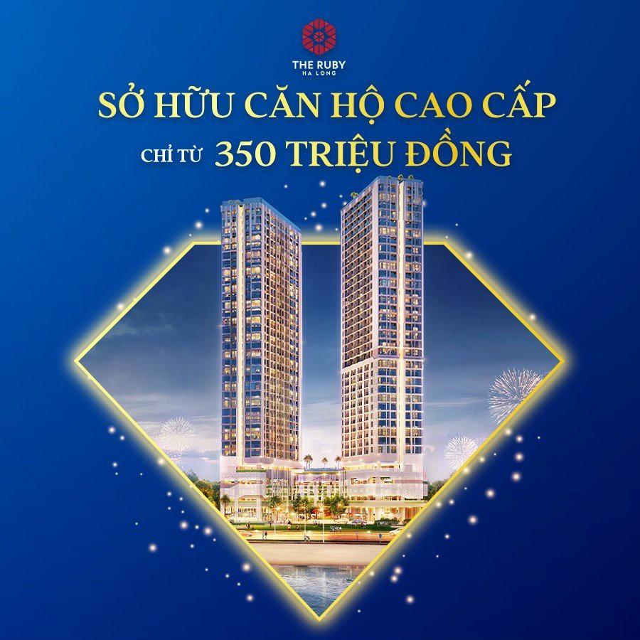 Cần bán Căn hộ chung cư dự án The Ruby Hạ Long, Diện tích 8950m², Giá Thương lượng