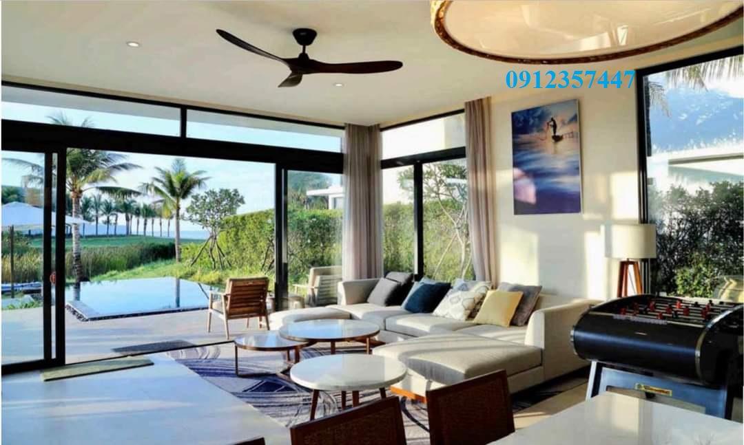 Chính chủ bán gấp căn biệt thự biển 3pn tại dự án Melia Hồ Tràm full nội thất 5*