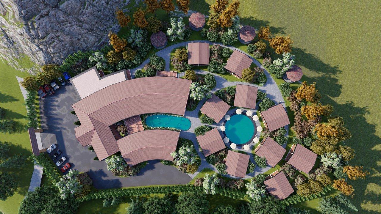 Cho thuê Nhà mặt tiền đường 43, Thị trấn Mộc Châu, Diện tích 8000m², Giá 200 Triệu/tháng - LH: 0989626116