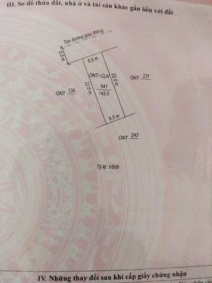 Cần bán Đất đường Đặng Huy Trứ, Xã Lộc Ninh, Diện tích 147m², Giá Thương lượng