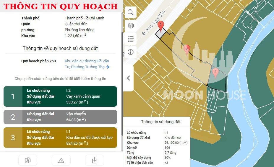 Cần bán Căn hộ chung cư đường Kha Vạn Cân, Phường Linh Đông, Diện tích 1220m², Giá 85 Tỷ