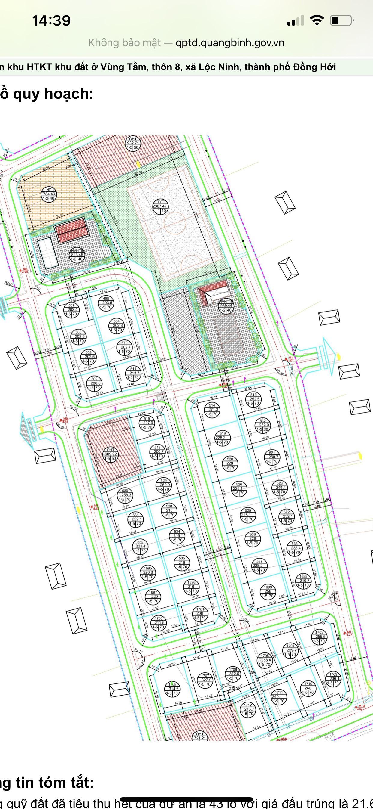 Cần bán Đất đường Đỗ Nhuận, Xã Lộc Ninh, Diện tích 228m², Giá Thương lượng