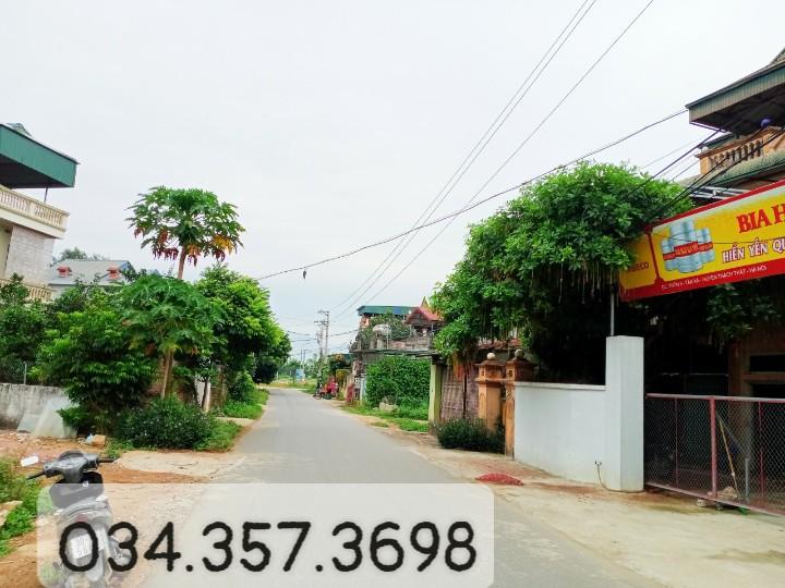 Cần bán đất thôn 9 đường Liên Xã, Xã Tân Xã, Diện tích 103m², Giá 2.472 Tỷ - LH: 0343573698
