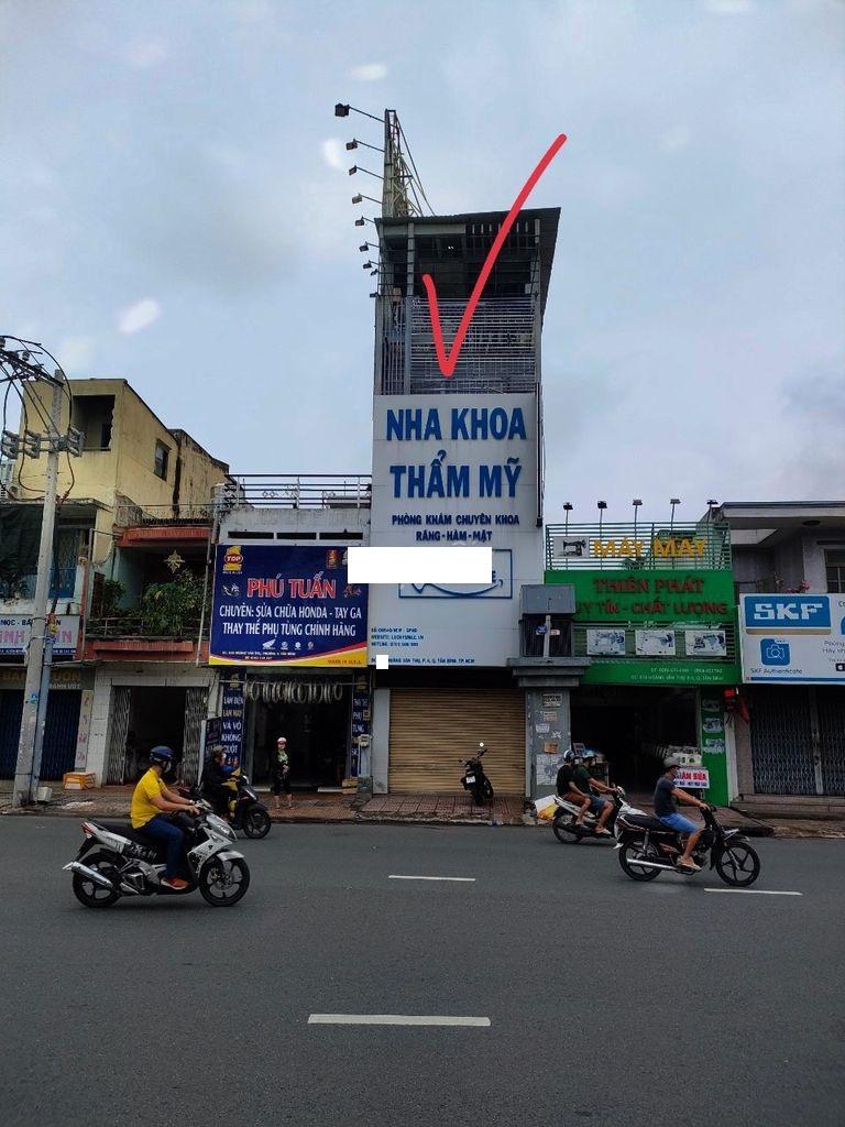 Cho thuê Nhà mặt tiền Tân Bình, Hồ Chí Minh, Diện tích 76m², Giá 25 Triệu/tháng - LH: 0903094446