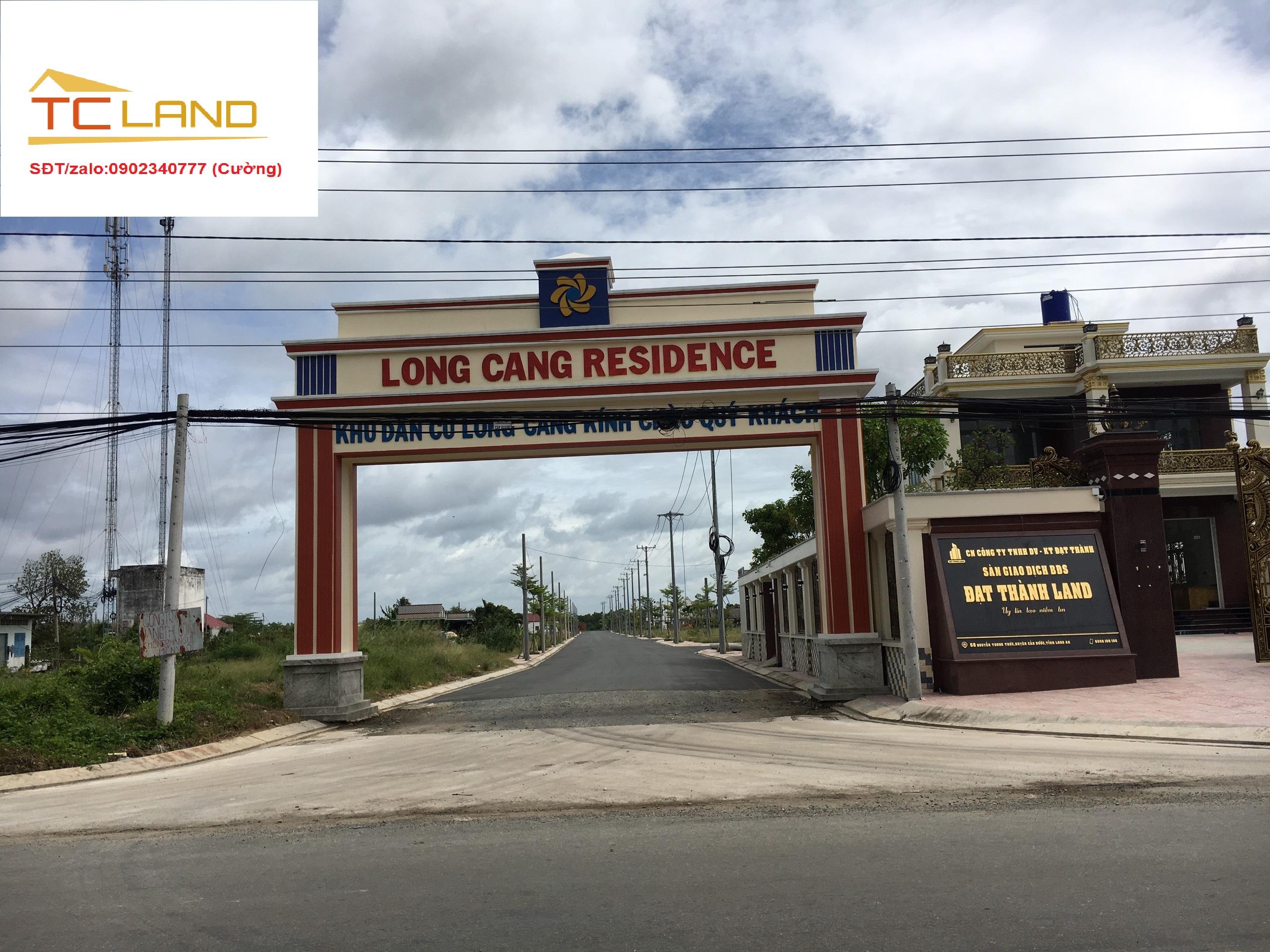 Cần bán Đất nền dự án dự án Long Cang Residence, Diện tích 87.9m², Giá 14 Triệu/m²