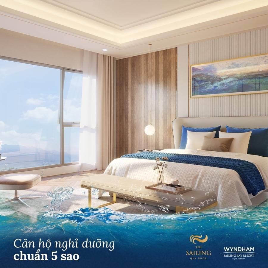 Booking CH Nghỉ dưỡng 5* Wyndham Sailing Quy Nhơn - 0965.268.349