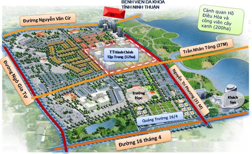 Tổng quan của Khu đô thị mới Đông Bắc Tp. Phan Rang – Tháp Chàm | ảnh 1