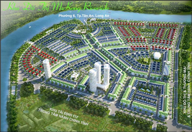 Tổng quan của Khu đô thị MeKong Riverside   ảnh 1