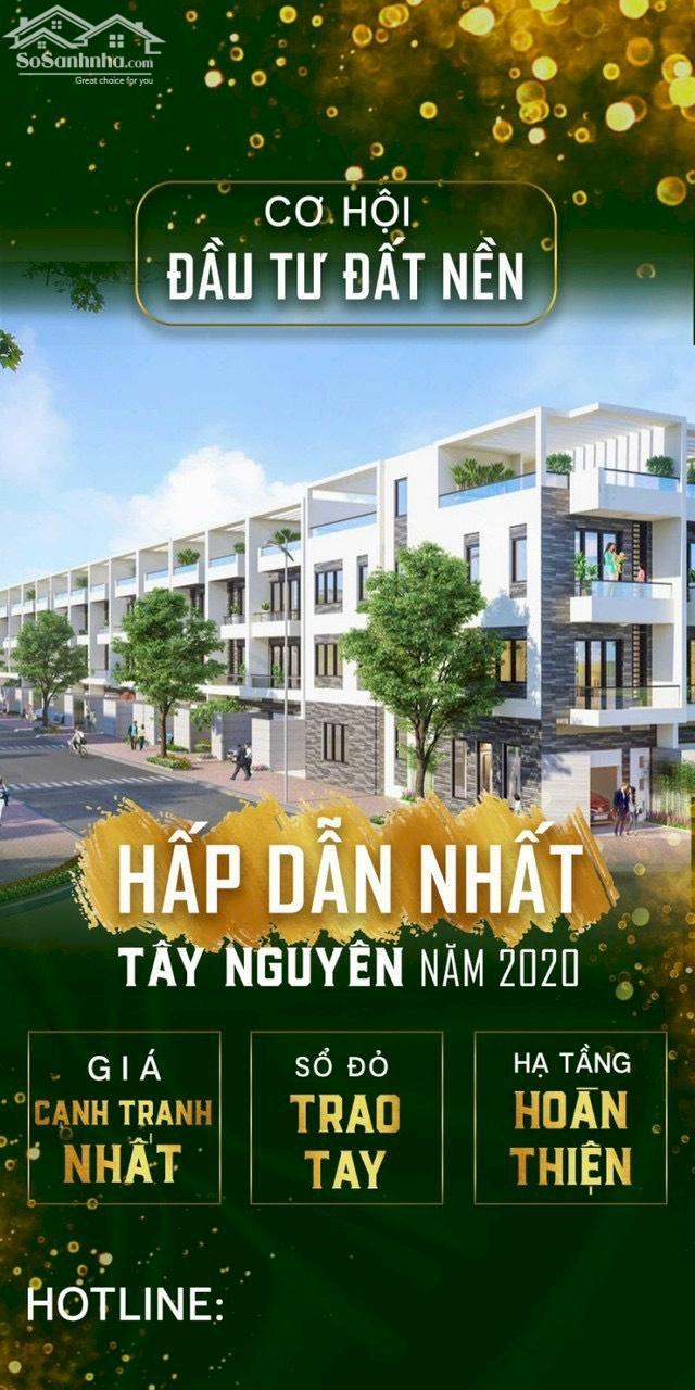 Tại sao nhà đầu tư lại chọn sở hữu lô đất Vàng Golden Hill, có sổ đỏ giữa trung tâm thành phố Pleiku?